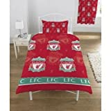 Liverpool Football Club FC Quilt/Duvet Cover Bedding Set