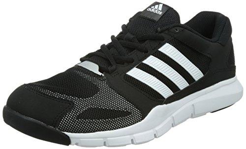 Adidas Essential Star - Zapatillas de deporte para hombre, color core black/ftwr white/silver metallic, talla 43 1/3