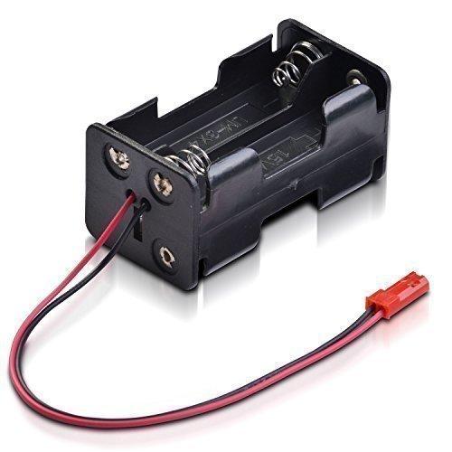Batteriebox-4-x-Mignon-Typ-AA-mit-BEC-Stecker-fr-Empfnger-partCore