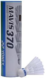 Tube Of 6 Yonex Mavis 370 Shuttles
