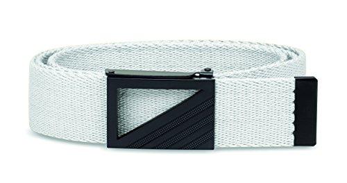 adidas Golf Webbing Belt, White/White