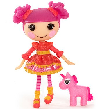 Mini Lalaloopsy Doll - Lady Writes A Poem