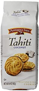 Pepperidge Farm Tahiti Cookies, Coconut 6.4 Ounce (Pack of 24)