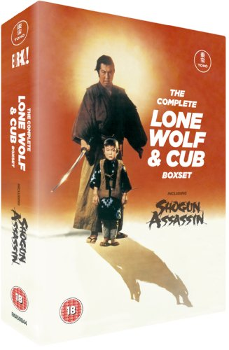 The Complete Lone Wolf & Cub Boxset [DVD] [1972]
