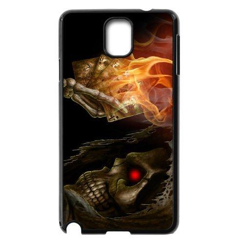 Samsung Galaxy Note 3 N9000 Skeleton Phone Back Case Diy Art Print Design Hard Shell Protection Aq040935