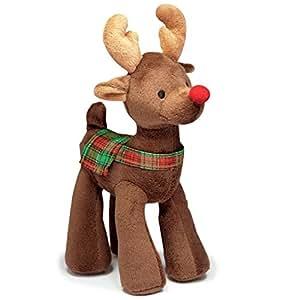 Grriggles Radiant Tartan Reindeer Toy