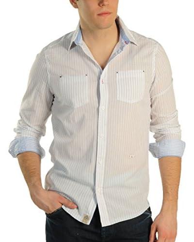 Pepe Jeans London Camicia Uomo Adler [Bianco]