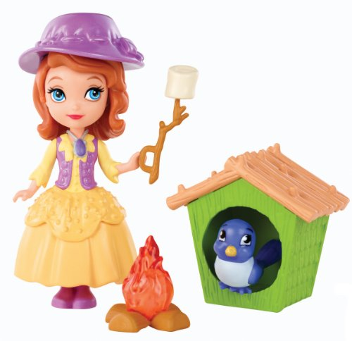 Disney Sofia the First Buttercup Troop Sofia Doll Playset