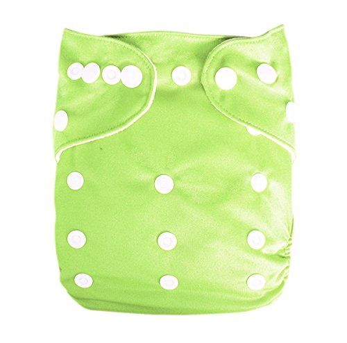 Besto Baby Reusable Washable Aio Cloth Diapers Fit 6-33Lbs With 1 Free Microfiber Insert 1B23 back-789311