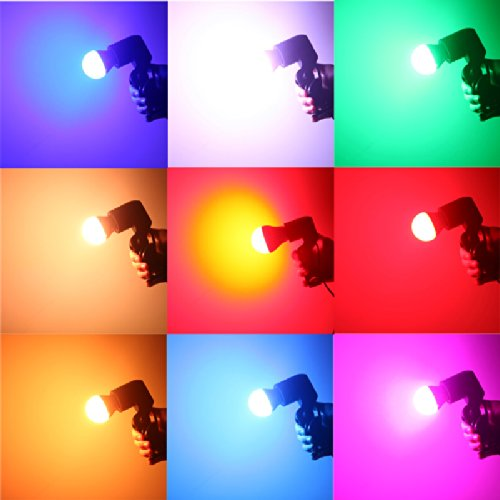 Docooler® 2000000 Colors Led Multi Color Change Changing Rgb Color Light Bulb Lamp Remote Control Spotlight Home Or Commercial 4W