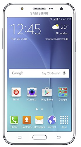Samsung Galaxy J7 SM J700F  White  available at Amazon for Rs.10990