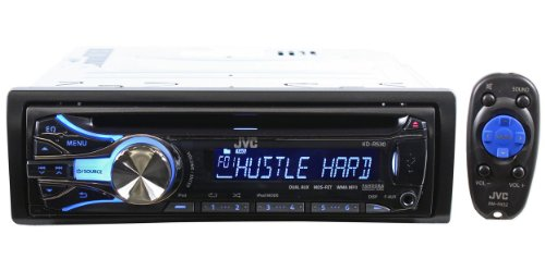 41hsgTwdqyL # Brand New JVC KD R530 In Dash Car Stereo Receiver with Front USB, iPod Control, 3.5mm Auxiliary Input & Pandora Support Deals
