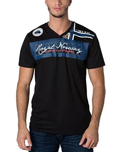 Geographical Norway Camiseta Manga Corta Snht Negro