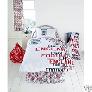 Matching Bedrooms England White Rotary Single Duvet Set