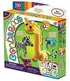 Bendaroos Zoo Animals 200 Piece Kit