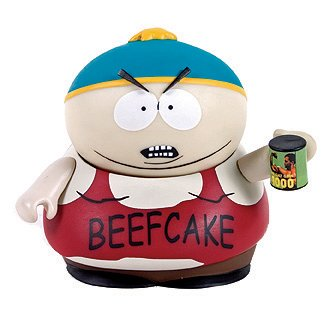 Picture of Mezco ToyFare Exclusive South Park: 'Beefcake' Cartman Action Figure Limited to 3,000 (B000VCDK0O) (Mezco Action Figures)