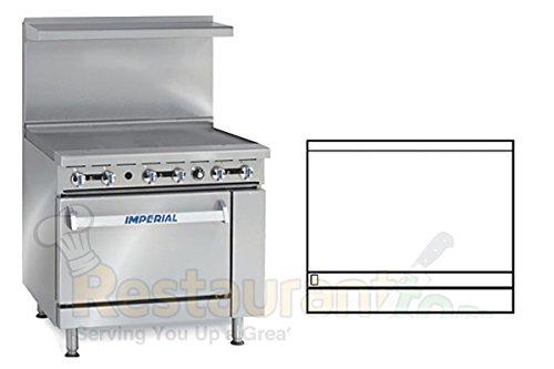 Imperial-Commercial-Restaurant-Range-36-Griddle-1-Standard-Oven-Natural-Gas-Model-Ir-G36