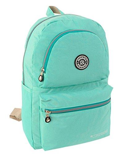 fanselatm-unisex-classic-nylon-daypack-school-backpack-green