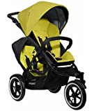 Phil and Teds Navigator Stroller with Doubles Kit (Golden Kiwi)