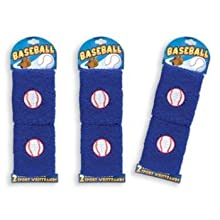 Ddi Baseball Wristbands 2 Per Card (Pack Of 72)