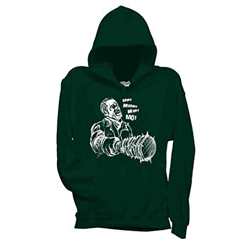 Felpa WALKING DEAD EENY MEENY - FILM by Mush Dress Your Style - Bambino-XL-Verde Bottiglia