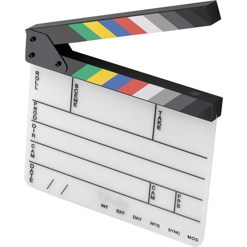 elvid-9-section-acrylic-dry-erase-production-slate-clapboard-with-color-clapper-sticks-9x11