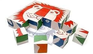 Aoi Huber Kono: Wooden Animal Puzzle by Naef Toys Switzerland