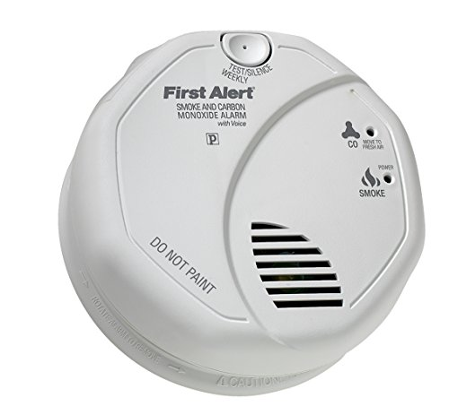 First Alert BRK SC7010BV Hardwired Talking Photoelectric Smoke and Carbon Monoxide Alarm (First Aid Carbon Monoxide compare prices)