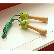 Pottery Barn Kids Wooden Frog Jump Rope