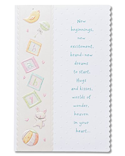 Warm Wishes Baby Shower Card with Foil PDF