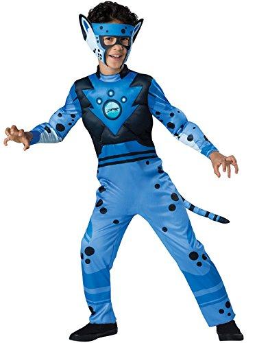 Wild Kratts Blue Cheetah Costume