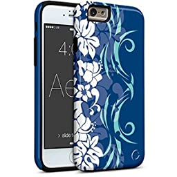 iPhone 6 6S Aero - Aloha Flowers Blue