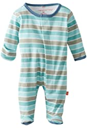 Magnificent Baby Baby-Boys Newborn Footed Coverall