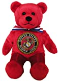 "United States Marine Corps EGA 9"" Military Bear"