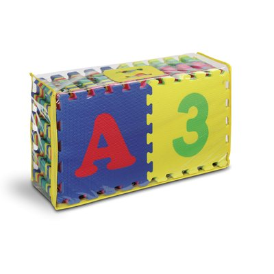 Cheap Kids Touch Alphabet and Number 12″-36 pcs Floor Puzzle Mat (B0050MLW4G)