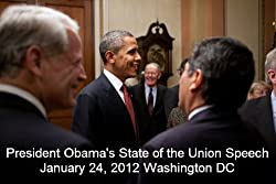 President Obama's State of the Union Address { January 24, 2012)