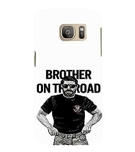 EPICCASE Handsome guy Mobile Back Case Cover For Samsung Galaxy S7 (Designer Case)