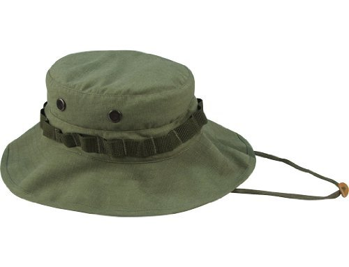 Rothco Vintage Vietnam Style Boonie Hat, Olive Drab, 7 1/2