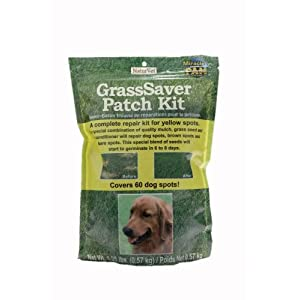 NaturVet GrassSaver Grass Seed Patch Kit, 1.25 pounds