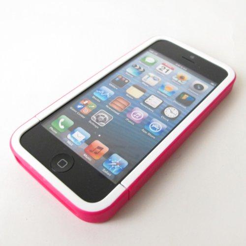 WHITE/RASPBERRY アップル社公認ブランドiPhoneケース 5対応incase インケースプロスライダーケース スマホケース CL69045