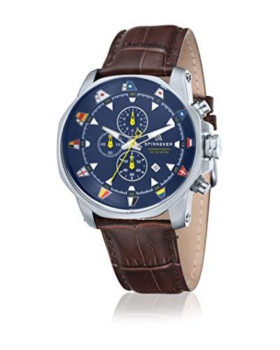 Spinnaker Reloj de cuarzo Flaggy Marrón 45 mm