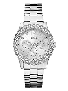 GUESS Women's U0335L1 Analog Display Quartz Silver Watch
