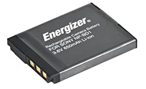 Energizer ENB-SBD Digital Replacement Battery NP-BD1 for Sony DSC-G3, T2, T300, T77, T700 and T900 (Black)