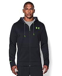 Under Armour Men\'s UA Storm Armour® Fleece Zip Hoodie Extra Large Black