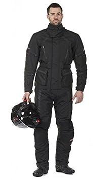 RST Tundra II 1573 jambe courte Txt moto Jeans noir