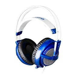SteelSeries Siberia v2 Full-Size Gaming Headset (Blue)