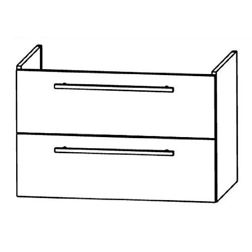 Kera Puris Trends WUA37754 Bathroom Cabinet (75 CM