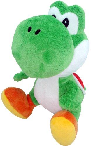 """Little Buddy Toys Nintendo Official Super Mario Green Yoshi Plush, 6"""" - 1"""