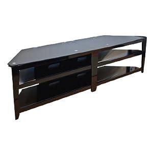 TechCraft BCE82 82-Inch Wide Flat Panel TV Stand - Black