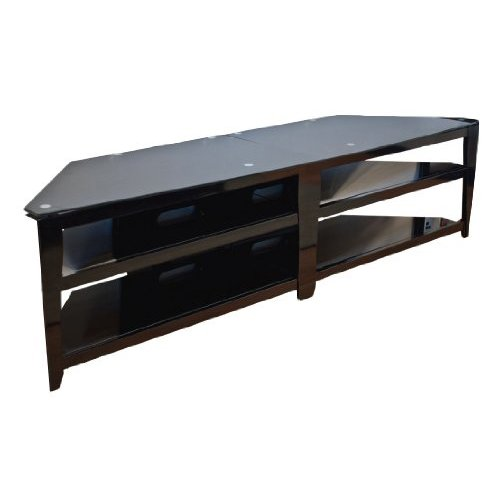 Great TechCraft BCE82 82 Inch Wide Mits Match TV Stand   Black